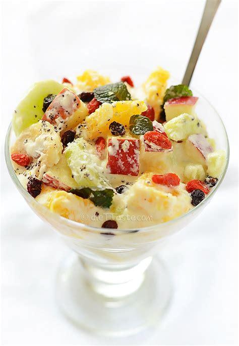 vegan fruit salad diet taste