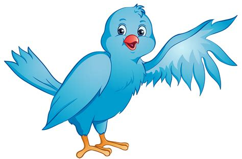 cartoon transparent bird clipart image clip art cartoon of a blue bird