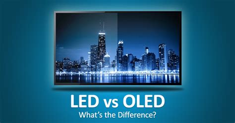 oled  led    real difference