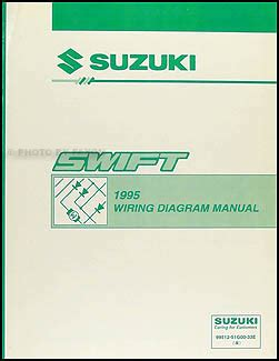 1995 suzuki wiring diagram manual original