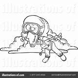 Skydiving Coloring Clipart Pages Illustration Leishman Ron Royalty Rf Getcolorings Printable sketch template