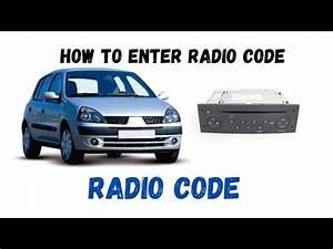 Renault Clio 1 2 How To Enter Radio Codes Reg 02