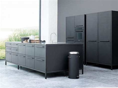 vipp kitchen the practical kitchen of stainless steel from vipp