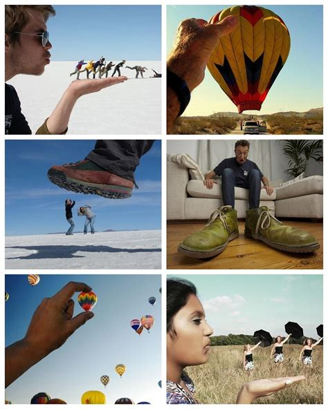forced perspective photography experts tuesday