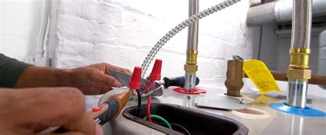 How Install Electric Water Heater Step