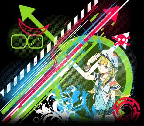 Techno Anime Wallpaper - animated techno wallpaper wallpapersafari