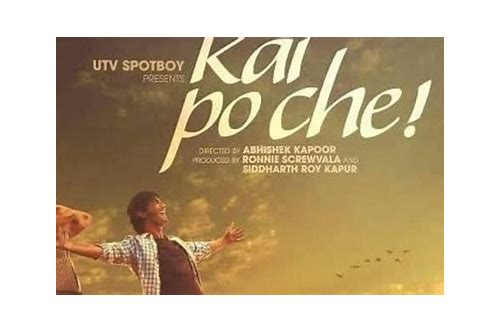kai po che download