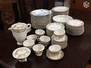 Service A Vaisselle : service vaisselle limoges n 238 vendre la fl che en sarthe ~ Teatrodelosmanantiales.com Idées de Décoration