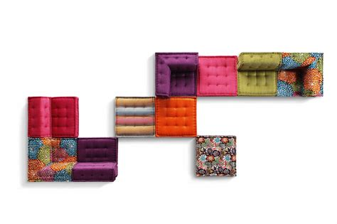 canape composable canapé composable en tissu mah jong missoni home by roche