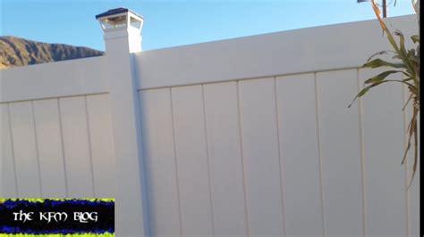 rid  gaps  vinyl fence youtube