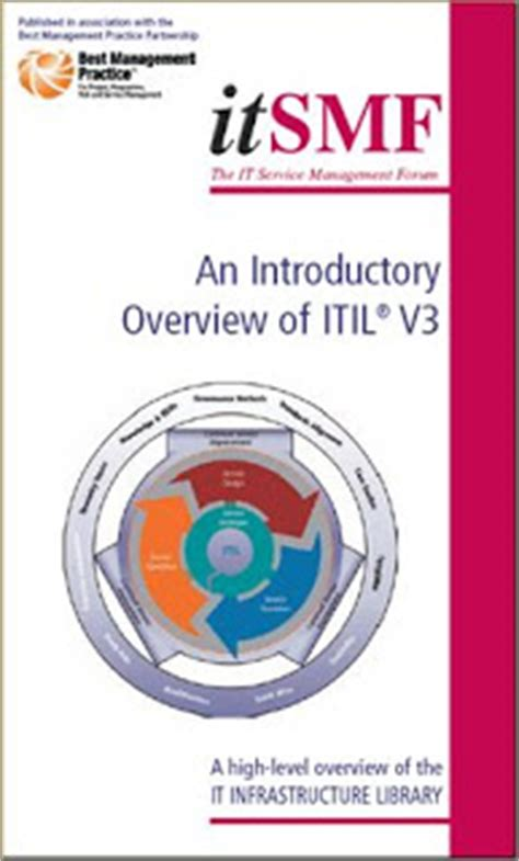 itil service management itil  introductory overview