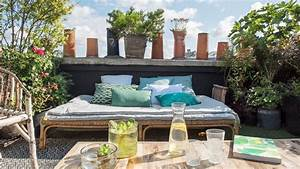 10 idees pour amenager une terrasse travauxcom With charming decoration pour jardin exterieur 0 decoration salon pour petit appartement