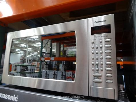 panasonic  cu ft stainless steel inverter microwave oven