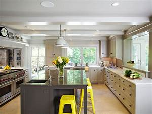 15 design ideas for kitchens without upper cabinets for What kind of paint to use on kitchen cabinets for bar themed wall art