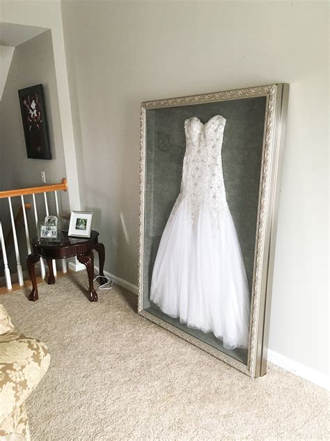 instead of putting my wedding dress in a box in the attic or possibly selling it i had