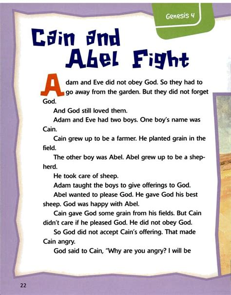 42 best cain amp abel images on bible 244 | 6d90c76ef95b1ed9b9f56983941434fe bible games childrens bible