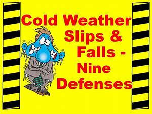 Slip And Fall Prevention Posters