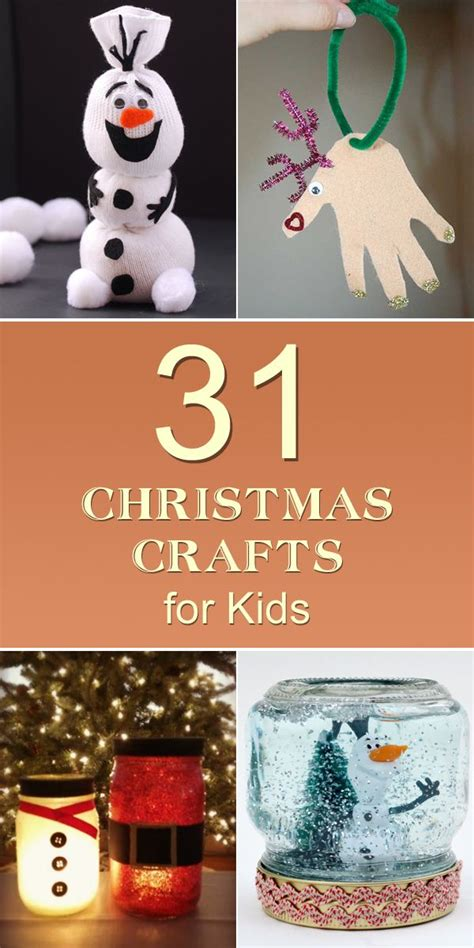 easy cheap christmas crafts  kids craft ideas