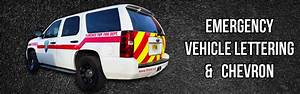 acerboscom signs banners graphics lettering With emergency vehicle lettering