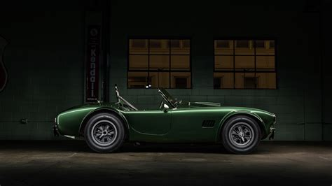 Car, Green Cars, Vehicle, Shelby, Shelby Cobra Wallpapers