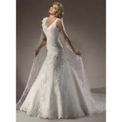 sears bridesmaid dresses dropped v neck appliques tulle wedding dress