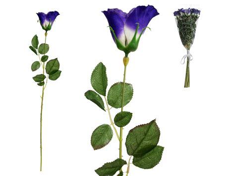 48 Pcs Long Single Stem Rose Bundles  Wedding Silk Flowers Bouquets Supplies Ebay