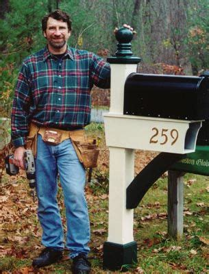 mailbox   yankee workshop projects wood shop