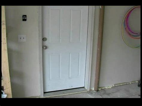 replace  garage entry door identifying problems