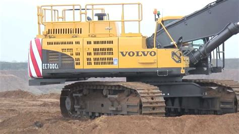 volvo ecc crawler excavator breedon aggregates digger