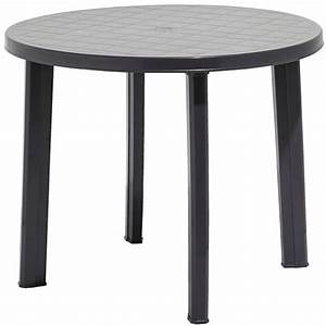 stunning table de jardin ronde gris anthracite ideas With table de jardin aluminium leroy merlin 1 table de jardin romantique ronde gris graphithe 4
