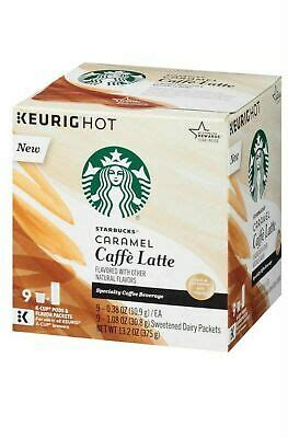 Sometimes you just need that extra shot of espresso! Starbucks Caramel Caffe Latte Coffee K-Cup Pods & Flavor Pack, 9 count   eBay