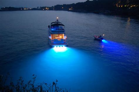 Boat Spotlights Uk by Lumishore Led Underwater Lighting Colour Change