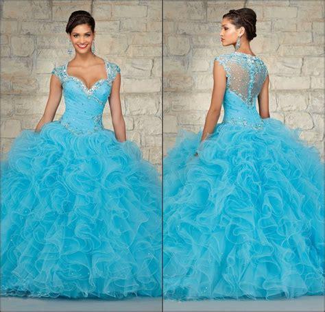 light blue 15 dresses 2015 custom made sweet 16 dresses ball gowns light blue