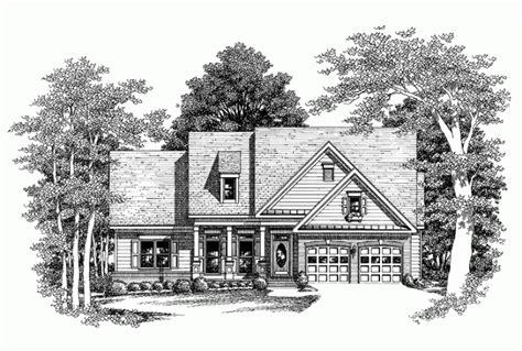 house plans with porches on front and back eplans country house plan covered front and back porches