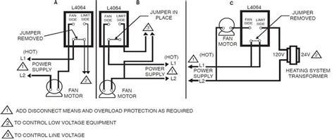 Honeywell Fan Limit Switch Control High Performance Hvac