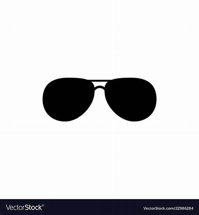 Sunglasses Clipart Vector Isolated