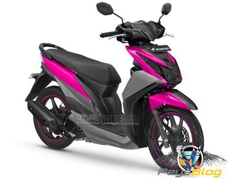Honda Beat Modif by Gambar Modifikasi Motor Beat Warna Pink Modifikasi Yamah