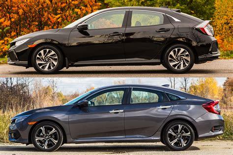 2017 Honda Civic Sedan Configurations by Are Hatchback And Sedan Doors Different 2016 Honda