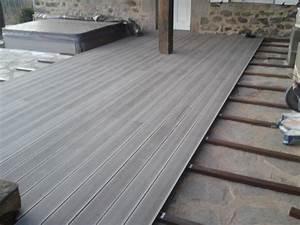 Ma Terrasse Avec Une Finition En Lame De Terrasse Composite