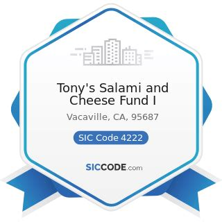 foto de Tony's Salami and Cheese Fund I ZIP 95687
