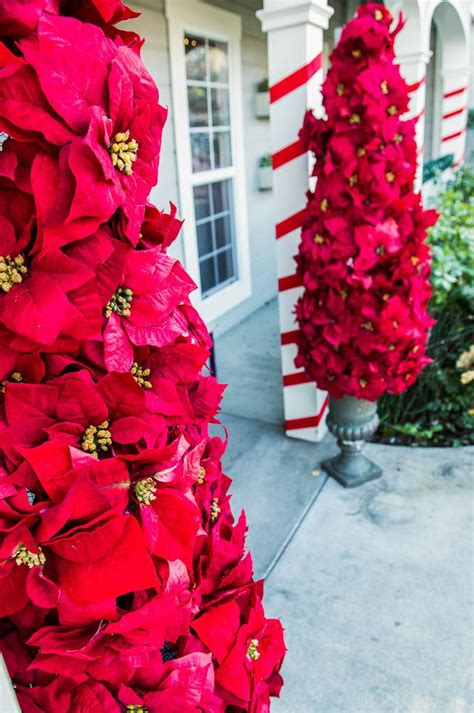 poinsettia tree ideas  pinterest gold video