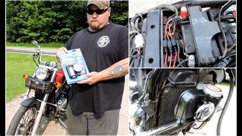 Installing A Wolo Bad Boy Air Horn On A Motorcycle