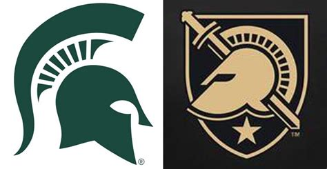 army s new logo looks a lot like michigan state s for the win