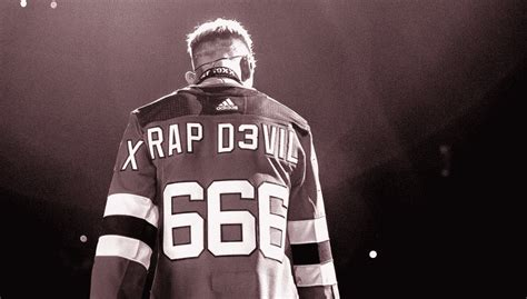 jersey devils news machine gun kelly rocking  sick