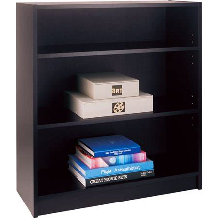 walmart black bookshelf mainstays 3 shelf bookcase black walmart
