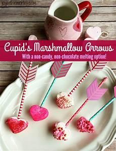 Cupid's Marshmallow Arrows - Joy in the Works