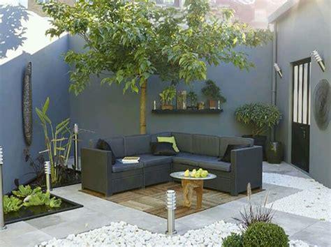 arredare  piccolo giardino  idee semplici
