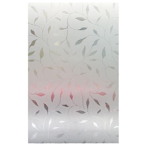 artscape 24 quot x 36 quot etched leaf window film gifts
