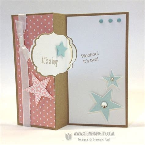 Packaging & printing online trade show. It's a Girl . . . and a Boy! Label Card Thinlits & Video!   Stampin' Pretty