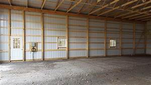 interior design pole barn interior designs decorating With pole barn garage interior ideas